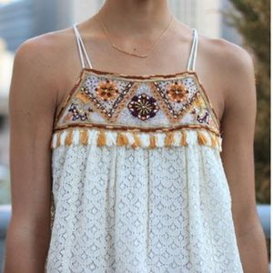 HD in Paris Tikal Tassel Tank